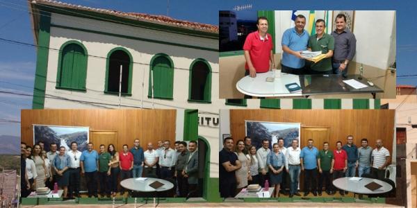 TRANSMISSÃO DE GOVERNO: Livramento de Nossa Senhora tem sua primeira reunião de transmissão de governo