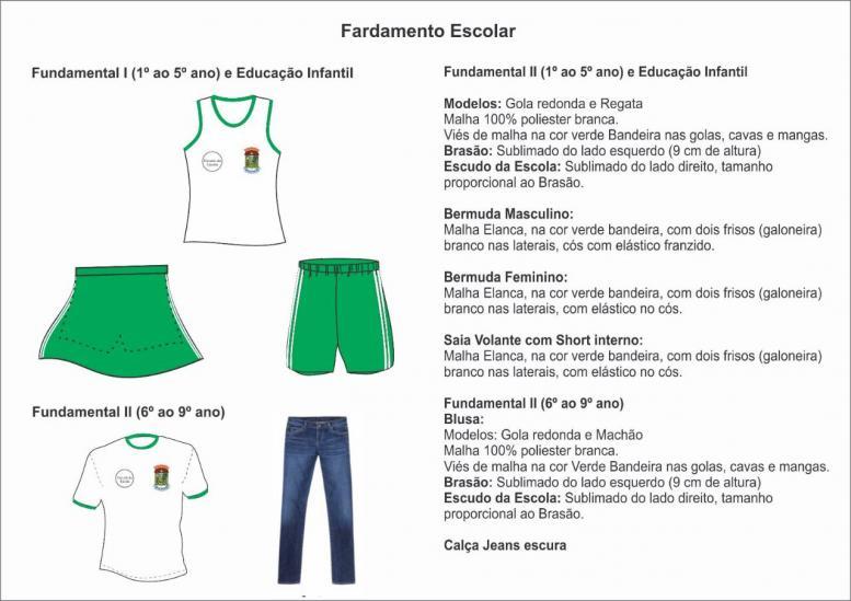Secretaria Municipal de Educação apresenta os novos modelos dos uniformes escolares da rede municipal de ensino