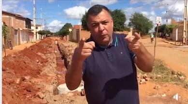 ESGOTAMENTO SANITÁRIO - RUA SEBASTIÃO DA SILVA RÊGO - TAQUARI