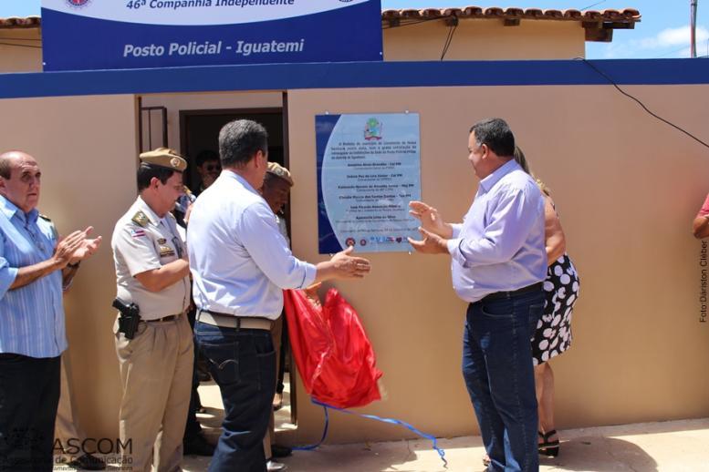 REINAUGURAÇÃO DO POSTO DE POLÍCIA MILITAR DE IGUATEMÍ