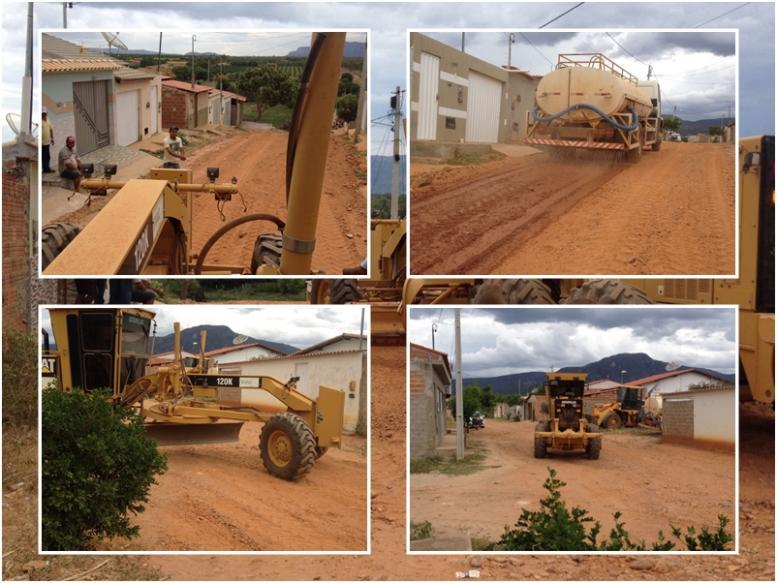 Prefeitura inicia a limpeza e recuperação das estradas do município