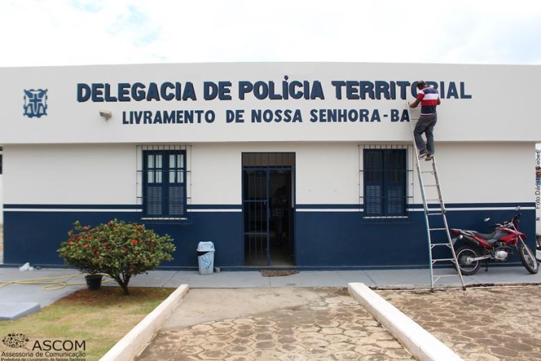 SECRETARIA DE OBRAS – REFORMA DA DELEGACIA