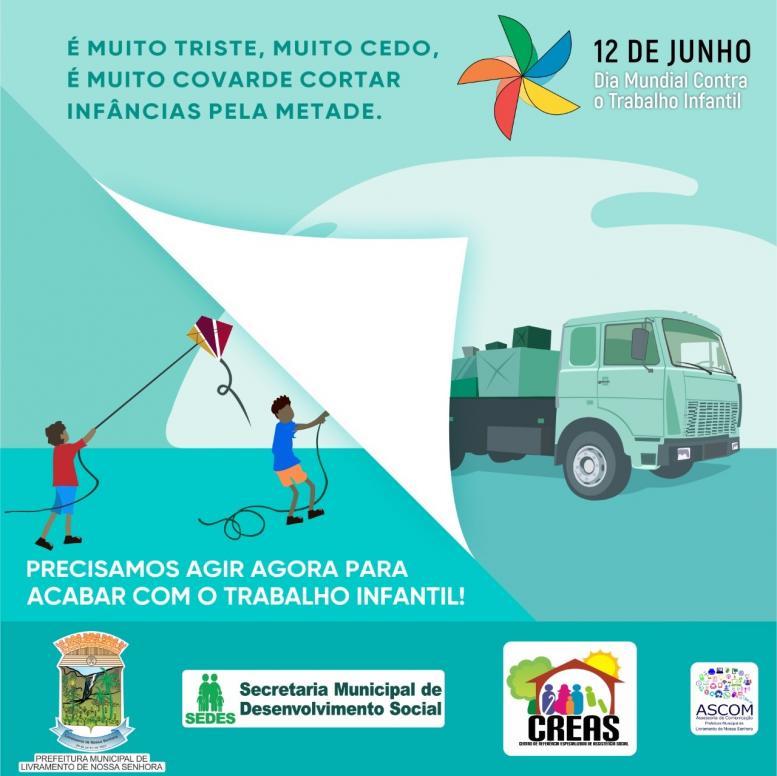 12 de junho, Dia Mundial contra o Trabalho Infantil