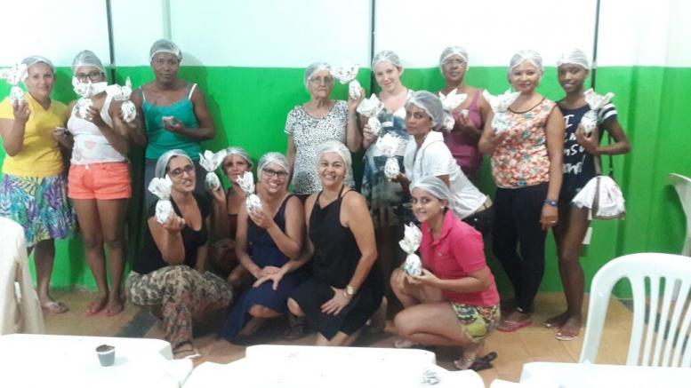 Prefeitura Municipal de Livramento, realizou oficina de ovos de páscoa para as Mulheres dos Cras  Taquari.