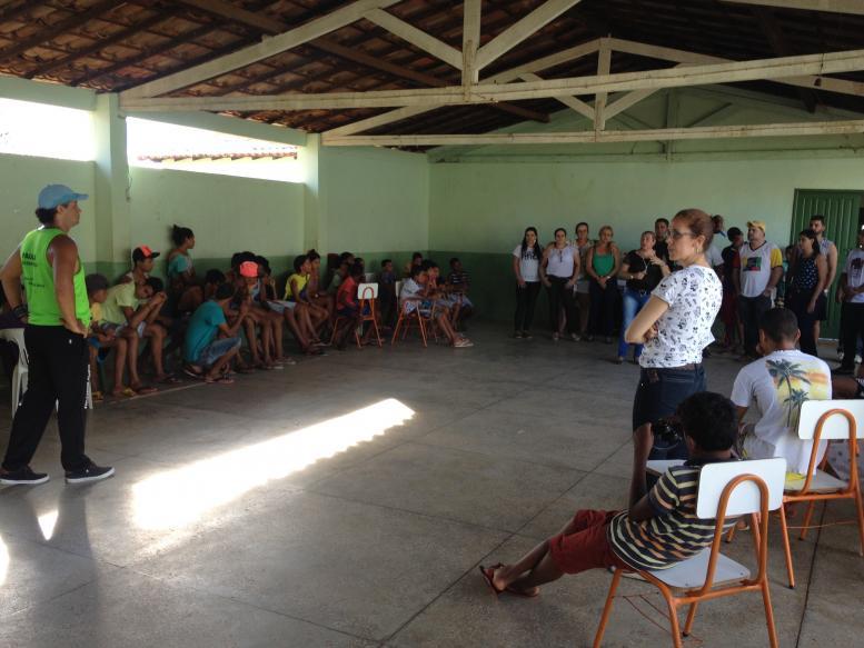 O SCFV - Serviço de Convivência e Fortalecimento, Realizou evento de pàscoa