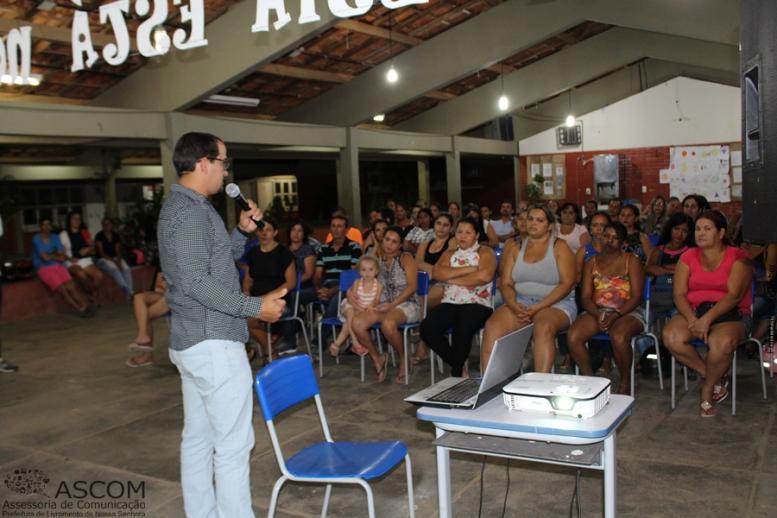 CRAS ESTOCADA/PBF/SCFV – REUNIÃO SOBRE O CADUNICO