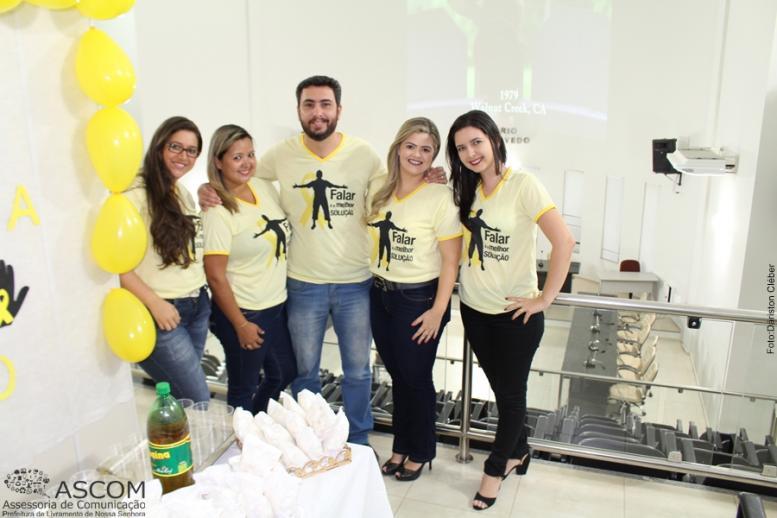 Campanha Setembro Amarelo em Livramento.